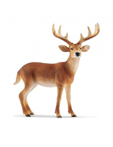 SCHLEICH jelen běloocasý 14818