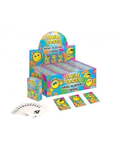 MINI hrací karty - smajlíci
