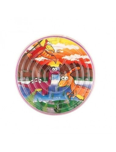 Bludiště s dinosaurem (kruh)