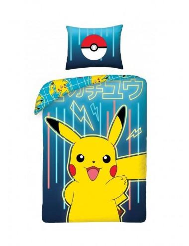 Povlečení na velkou postel Pokémon (Pikachu)