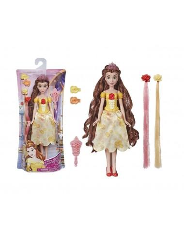 Česací panenka s doplňky a s příčesky - Bella