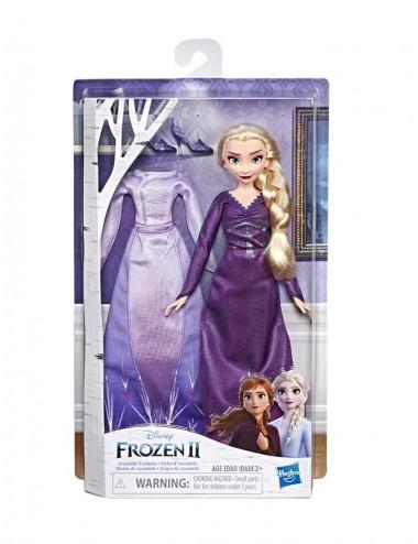 Panenka + šaty a doplňky navíc Ledové království II - Elsa