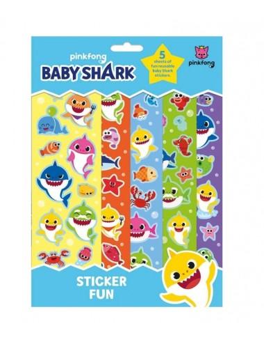 "Samolepky ""baby shark"" - 5 archů"
