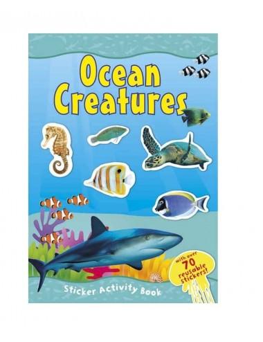 Aktivity knížka - samolepkové album (oceán)