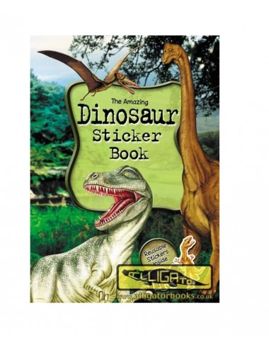 Aktivity knížka - samolepkové album - dinosauři