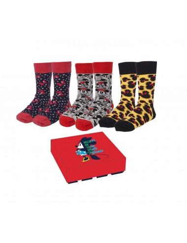 Dárková sada ponožek Minnie Mouse (3pack)