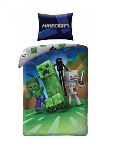 Povlečení na velkou postel Minecraft