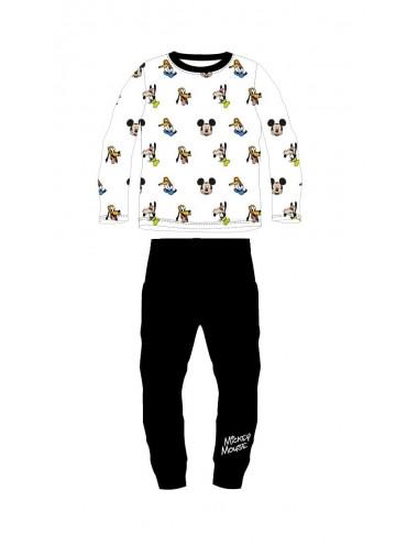 Pyžamo s dl. rukávem + kalhoty Mickey Mouse - černá