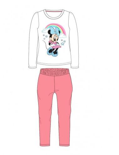 Pyžamo s dl. rukávem + kalhoty Minnie Mouse