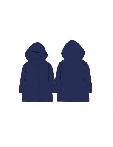 Jednobarevná pláštěnka - tmavě modrá