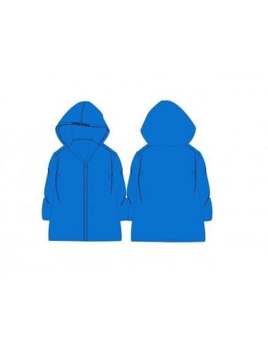 Jednobarevná pláštěnka - světle modrá