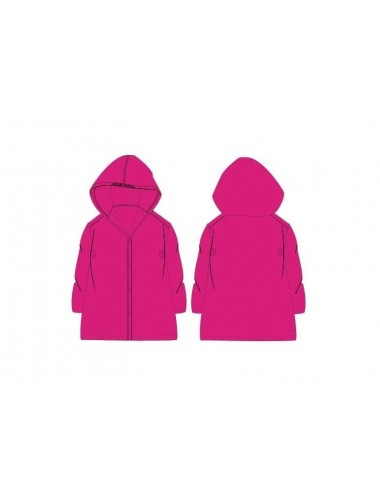 Jednobarevná pláštěnka - růžová