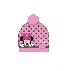 Čepice Minnie Mouse - světle růžová