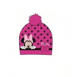 Čepice Minnie Mouse - tmavě růžová