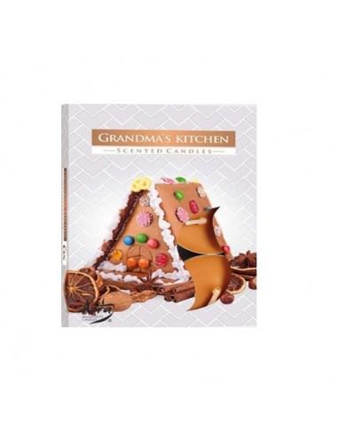 Čajové svíčky - babiččina kuchyně (sada 6ks)