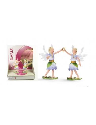 SCHLEICH Květinové elfí víly (dvojčata) 70458