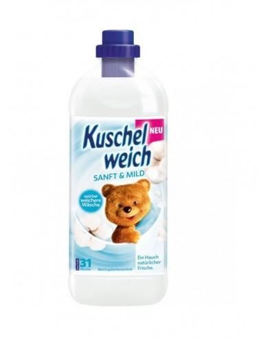 Aviváž na praní Kuschel-weich Sensitive - bílá