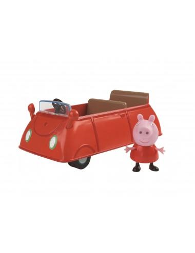 Rodinné auto Prasátko Peppa + postavička Peppa