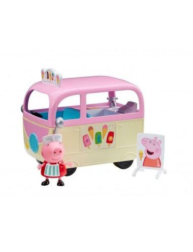 Zmrzlinářský vůz Prasátko Peppa + postavička Peppa