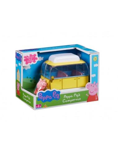 Kempingový vůz Prasátko Peppa + postavička Peppa