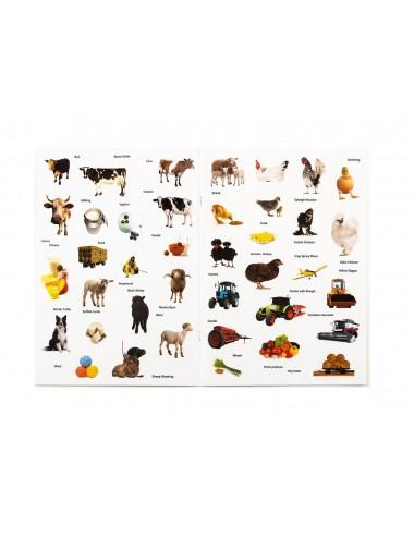 Aktivity knížka - samolepkové album (zvířecí detektiv na farmě)