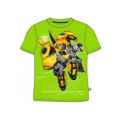 Triko s krátkým rukávem Transformers - zelené