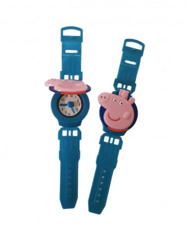 Dětské plastové hodinky Prasátko Peppa