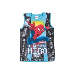 Tílko Spiderman - modré