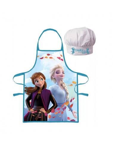 Dětská kuchařská zástěra + čepice Ledové království II