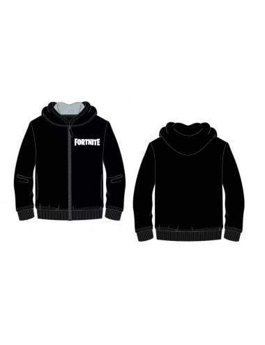 Mikina s kapucí Fortnite - černá