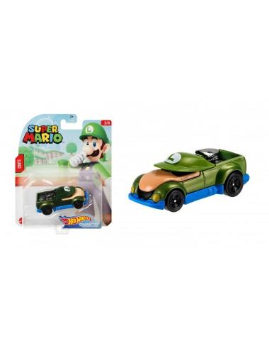 Autíčko Hot wheels herní edice Super Mario - Luigi (2/8)