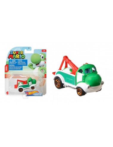 Autíčko Hot wheels herní edice Super Mario - Yoshi (4/8)