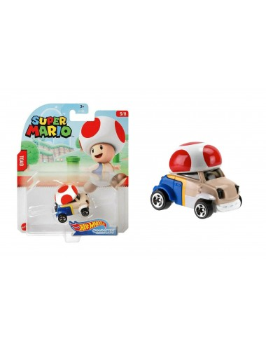 Autíčko Hot wheels herní edice Super Mario - Toad (5/8)