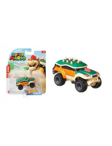 Autíčko Hot wheels herní edice Super Mario - Bowser (6/8)