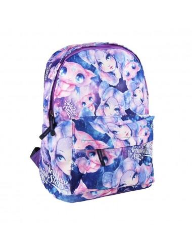 Školní batoh Nebulous - fialový