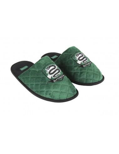 Domácí papuče - nazouváky Harry Potter Zmijozel (zelené)
