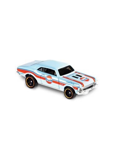 Hot wheels ´68 Chevy Nova 7/10 (speed graphics)