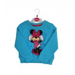 Mikina Minnie Mouse - modrá
