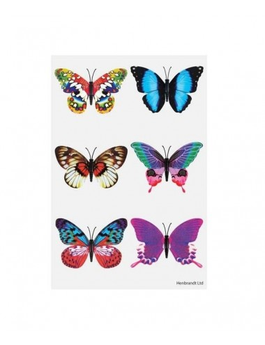 Arch tetovaček - motýli