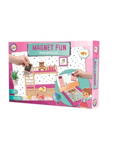 Sada magnetů - dětský pokoj (65ks)