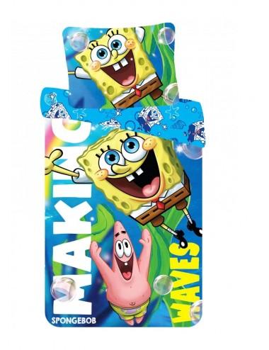Povlečení na velkou postel SpongeBob
