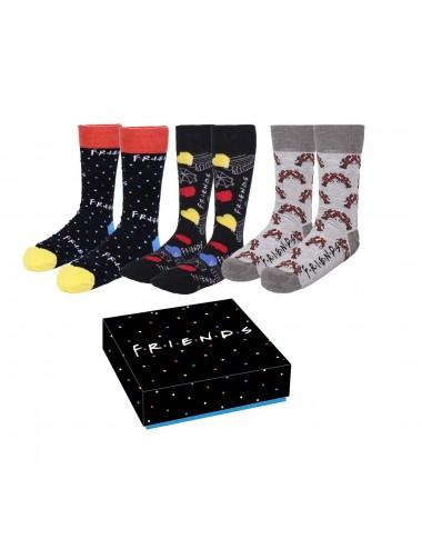Dárková sada ponožek Přátelé (3 pack)