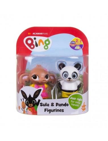 Postavičky Bing a přátelé - Sula & Panda