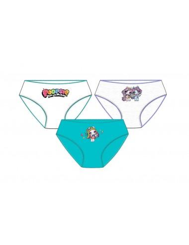 Dívčí kalhotky Poopsie (3 pack)