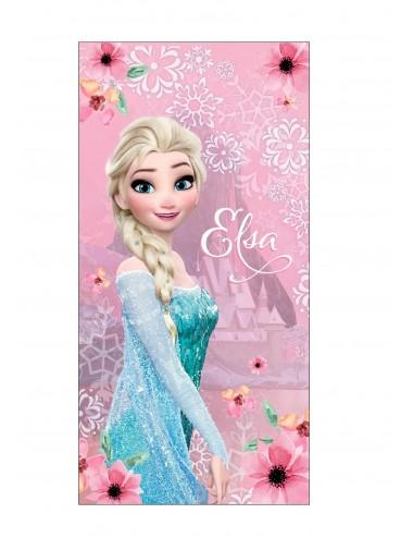 Velká osuška Ledové království (Elsa) - růžová