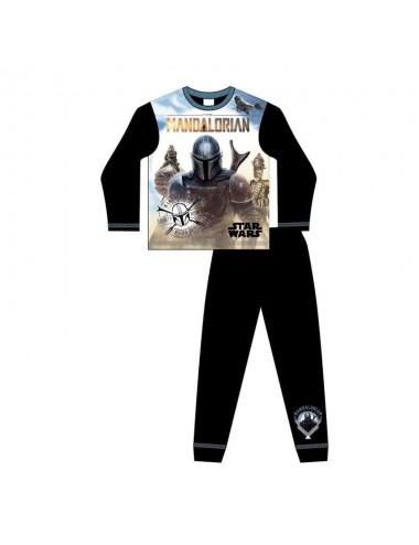 Pyžamo s dl. rukávem + kalhoty Star wars Mandalorian