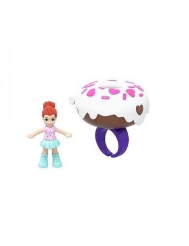 Kapesní domeček s Polly panenkou - prstýnek DONUT