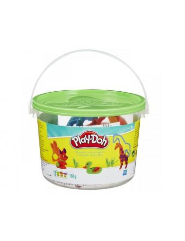 Hasbro Play-Doh Modelovací set v kyblíku – zvířata