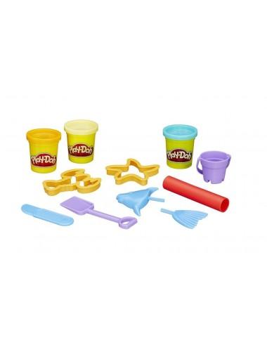 Hasbro Play-Doh Modelovací set v kyblíku – pláž