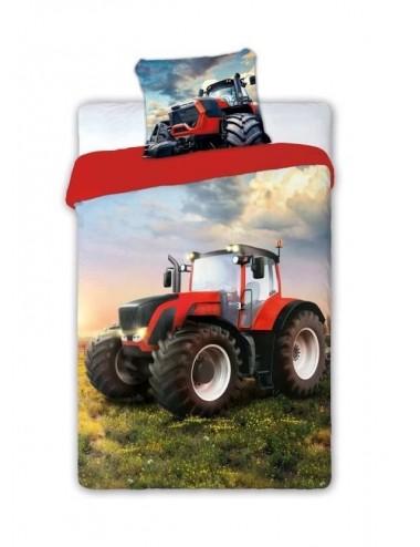 Povlečení na velkou postel - traktor